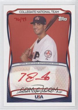 2010 Topps USA Baseball Team - Autographs - Red Ink #A-38 - Jason Esposito /99