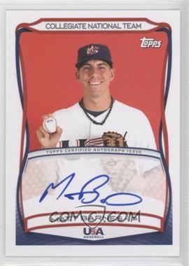 2010 Topps USA Baseball Team - Autographs #A-22 - Matt Barnes