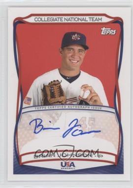 2010 Topps USA Baseball Team - Autographs #A-29 - Brian Johnson