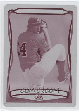 2010 Topps USA Baseball Team - [Base] - Printing Plate Magenta #USA-52 - Troy Conyers /1