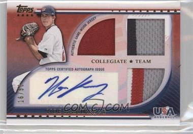 2010 Topps USA Baseball Team Autograph Relics Patches #USAAR-NRA - Noe Ramirez /50