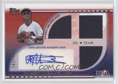 2010 Topps USA Baseball Team Autograph Relics #USAAR-AA - Albert Almora /219