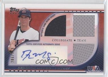 2010 Topps USA Baseball Team Autograph Relics #USAAR-AM - Andrew Maggi /219