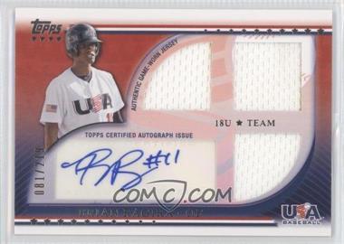 2010 Topps USA Baseball Team Autograph Relics #USAAR-BR - Brian Ragira /219