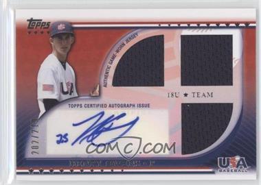 2010 Topps USA Baseball Team Autograph Relics #USAAR-HO - Henry Owens /219