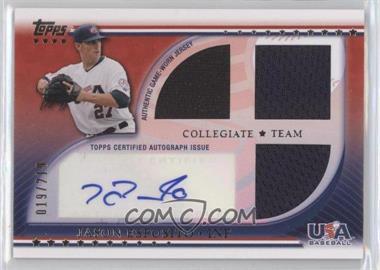 2010 Topps USA Baseball Team Autograph Relics #USAAR-JE - Jason Esposito /219