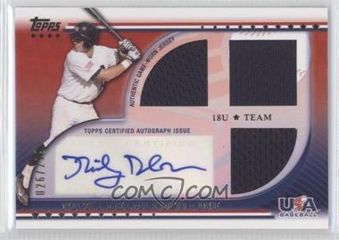 2010 Topps USA Baseball Team Autograph Relics #USAAR-ND - Nick Derba /219
