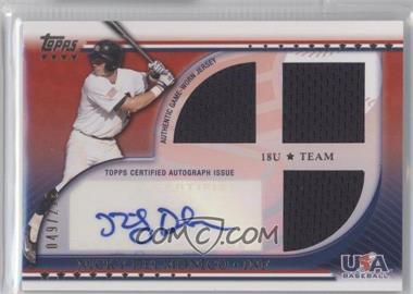 2010 Topps USA Baseball Team Autograph Relics #USAAR-ND - Nicky Delmonico /219