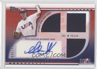 2010 Topps USA Baseball Team Autograph Relics #USAAR-PP - Phillip Pfeifer /219