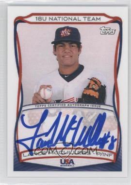 2010 Topps USA Baseball Team Autographs #A-15 - Lance McCullers