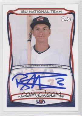 2010 Topps USA Baseball Team Autographs #A-2 - Albert Almora