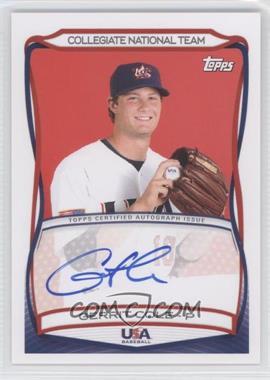 2010 Topps USA Baseball Team Autographs #A-24 - Gerrit Cole