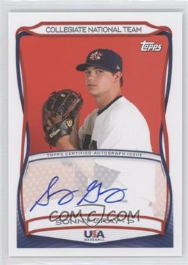 2010 Topps USA Baseball Team Autographs #A-28 - Sonny Gray