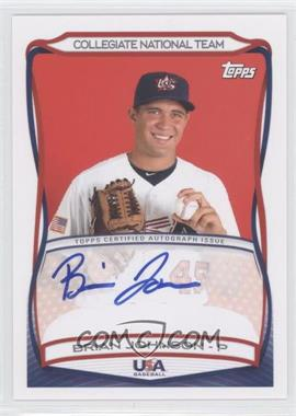 2010 Topps USA Baseball Team Autographs #A-29 - Brian Johnson