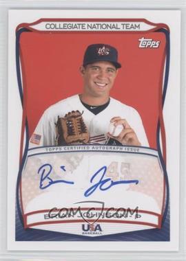 2010 Topps USA Baseball Team Autographs #A-29 - Brian Johnson