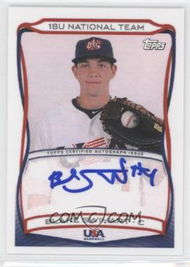 2010 Topps USA Baseball Team Autographs #A-3 - Blake Swihart