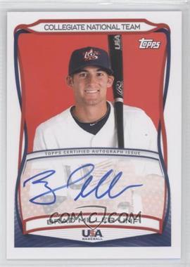 2010 Topps USA Baseball Team Autographs #A-33 - Brad Miller