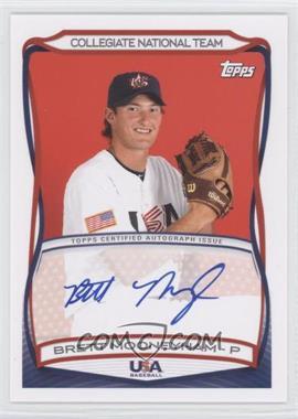 2010 Topps USA Baseball Team Autographs #A-34 - Brett Mooneyham