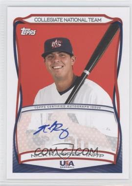 2010 Topps USA Baseball Team Autographs #A-36 - Nick Ramirez