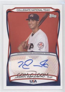 2010 Topps USA Baseball Team Autographs #A-38 - Jason Esposito