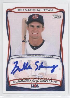 2010 Topps USA Baseball Team Autographs #A-8 - Bubba Starling