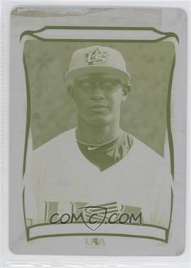 2010 Topps USA Baseball Team Printing Plate Yellow #USA-21 - Ricardo Jacquez /1