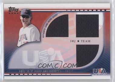 2010 Topps USA Baseball Team Relics #USAR-ND - Nicky Delmonico