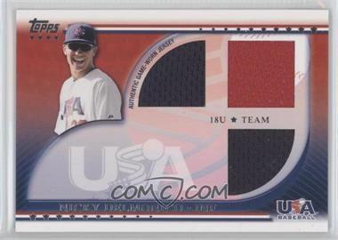 2010 Topps USA Baseball Team Relics #USAR-ND - Nicky Delmonico