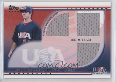 2010 Topps USA Baseball Team Relics #USAR-RJ - Ricardo Jacquez