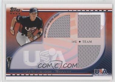 2010 Topps USA Baseball Team Relics #USAR-ZG - Zach Green