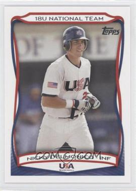 2010 Topps USA Baseball Team #USA-3 - Nick Delmonico