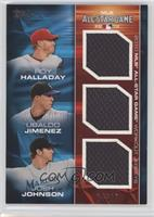 Roy Halladay, Ubaldo Jimenez, Josh Johnson /25