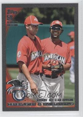 2010 Topps Update Series Black #US-57 - Elvis Andrus, Derek Jeter /59
