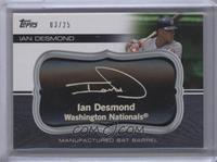 Ian Desmond /25