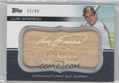2010 Topps Update Series Manufactured Bat Barrels #MBB-159 - Luis Aparicio /99