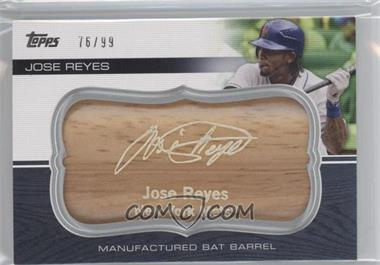2010 Topps Update Series Manufactured Bat Barrels #MBB-9 - Jose Reyes /99