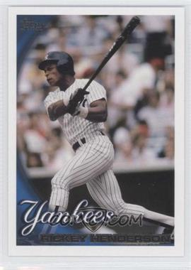 2010 Topps Update Series #US-276 - Rickey Henderson