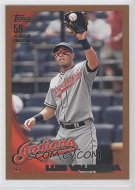 2010 Topps Wal-Mart Value Packs [Base] Copper #617 - Luis Valbuena /399