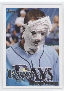 2010 Topps #225.2 - David Price (Pie in Face)