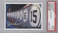 Franchise History (New York Yankees) [PSA 9]