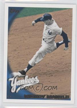 2010 Topps #652.2 - Mickey Mantle (Legend)