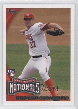 2010 Topps #661.3 - Stephen Strasburg (Arm Back)