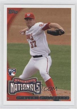 2010 Topps #661.4 - Stephen Strasburg (Arm Back)