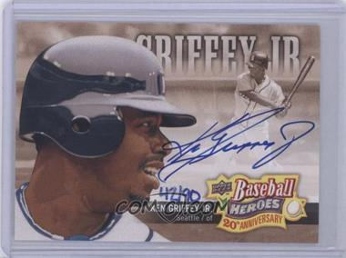 2010 Upper Deck - Baseball Heroes 20th Anniversary Art - Autographs [Autographed] #BHA-1 - Ken Griffey Jr. /90