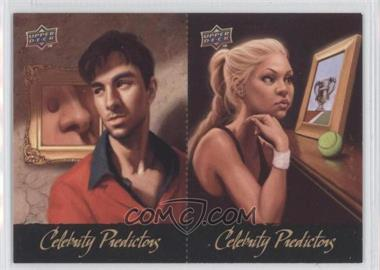 2010 Upper Deck Celebrity Predictors #CP-12/11 - Enrique Iglesias, Anna Kournikova