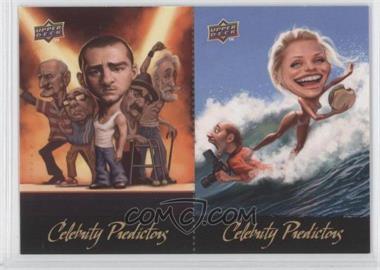 2010 Upper Deck Celebrity Predictors #CP-4/3 - Justin Timberlake, Cameron Diaz