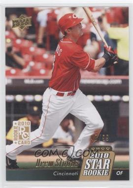 2010 Upper Deck Gold #10 - Drew Stubbs /99