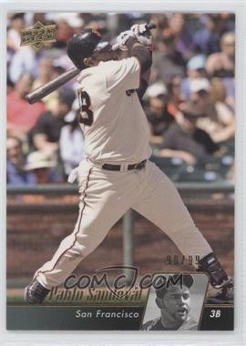 2010 Upper Deck Gold #429 - Pablo Sandoval /99