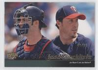 Joe Mauer, Joe Nathan (Minnesota Twins Team Checklist) /99
