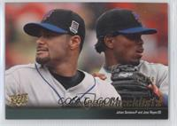 Johan Santana, Jose Reyes (New York Mets Team Checklist) /99
